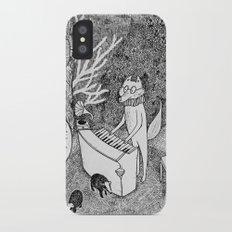 Fox Piano iPhone X Slim Case