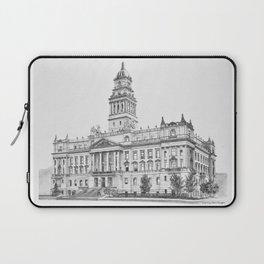 Wayne County Court House | Detroit Michigan Laptop Sleeve