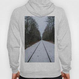snowy tracks Hoody