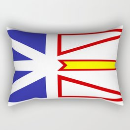 Newfoundland Flag Rectangular Pillow
