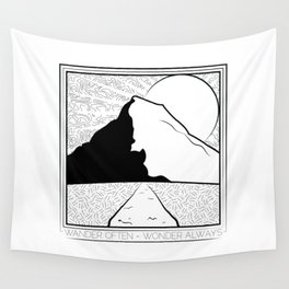 Wander Often - Wonder Always Wall Tapestry