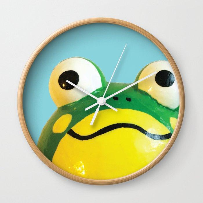 Mr. Frog Wall Clock