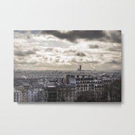 France, The City, Paris Metal Print