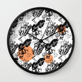 Magnifico! Wall Clock