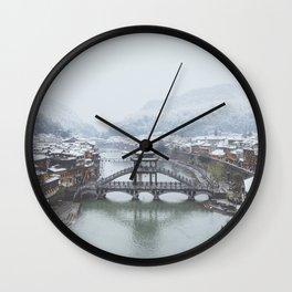 Fenghuang III Wall Clock