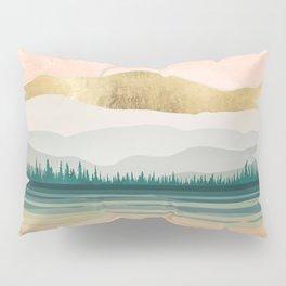 Spring Forest Lake Pillow Sham