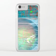 Flying Around the World Clear iPhone Case