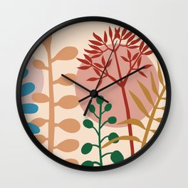 Ibiza flowers 07 Wall Clock