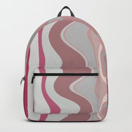 Distorted stripes in colour 4 Backpack