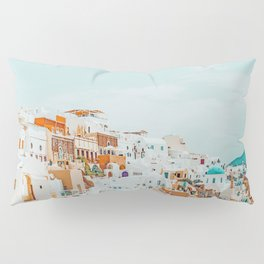 Travelers || #photography #greece Pillow Sham