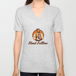 Stout Fellow - Home Brewing Unisex V-Neck