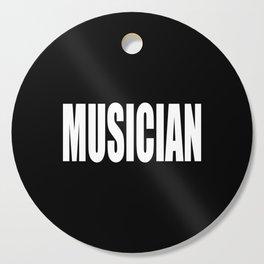 Musician Cutting Board
