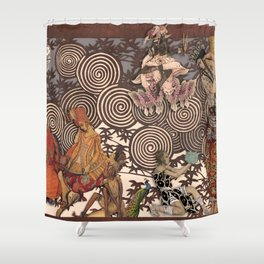 Dawn at The Ballets Russes Shower Curtain