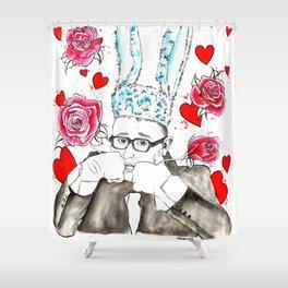 L'amour Elbaz Shower Curtain