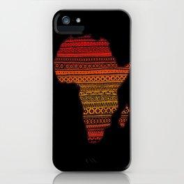 AFRIKA iPhone Case