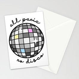 All Panic, No Disco Stationery Cards