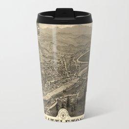 Map Of Littleton 1883 Travel Mug