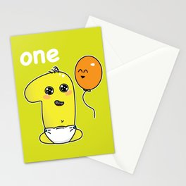 Number 1 birthday Stationery Cards