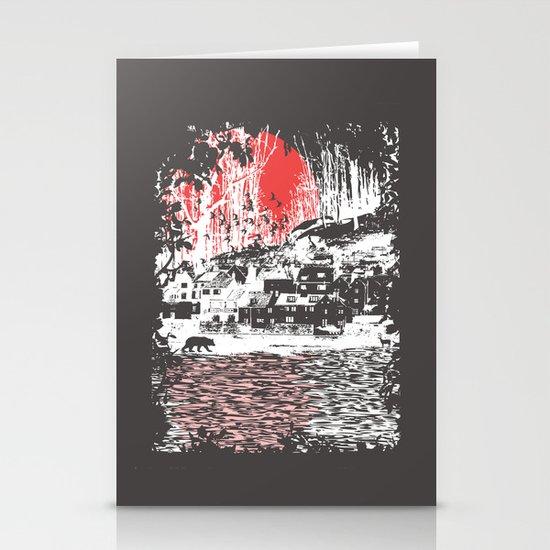 Cosmic Winter - Dark Stationery Cards