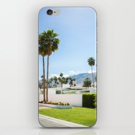 put the palm in palm springs iPhone Skin