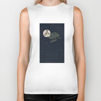 interstellar Biker Tanks featuring Interstellar by Shany Atzmon