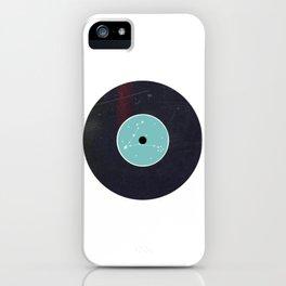 Vinyl Record Star Sign Art | Pisces iPhone Case