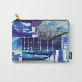 Collage - Just Blue Carry-All Pouch