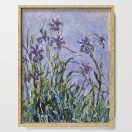 Claude Monet - Iris Jaune Serving Tray