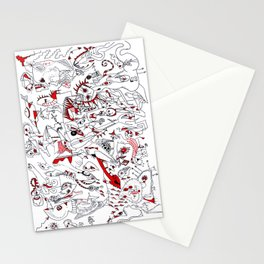 Schizo Pop Stationery Cards