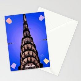The Chrysler Clock Stationery Cards
