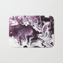Fluid Expressions - Plums and Cream Bath Mat