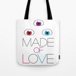 Made of love Tote Bag