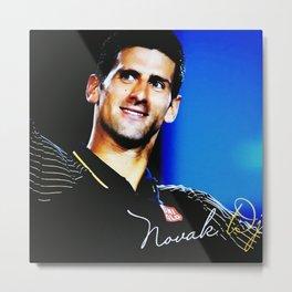 Novak Djokovic No.1 Metal Print