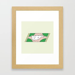Fat Russell Framed Art Print