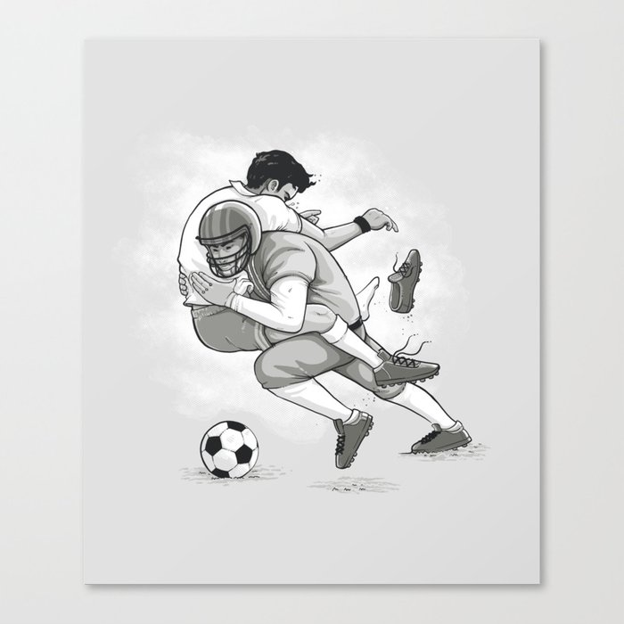 This is Football! Canvas Print