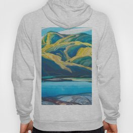 Canadian Landscape Oil Painting Franklin Carmichael Art Nouveau Post-Impressionism Lone Lake Hoody