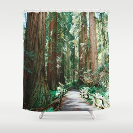The Redwoods Shower Curtain