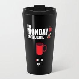 The monday coffee game Travel Mug