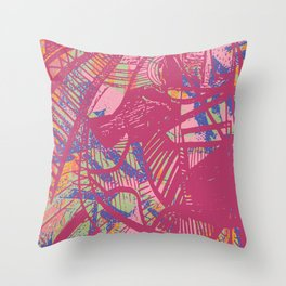 The Thrill Throw Pillow