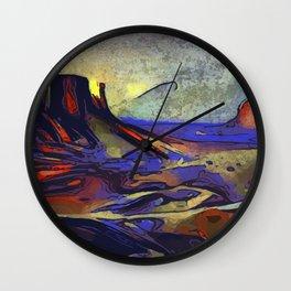 Desert Dreams Wall Clock