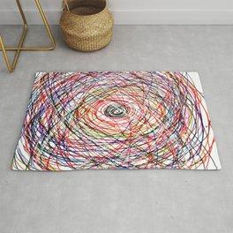 Doodling Lines Rug