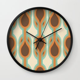 Retro-Delight - Double Drops - Desert Wall Clock