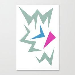 Colours Design Tee A Canvas Print