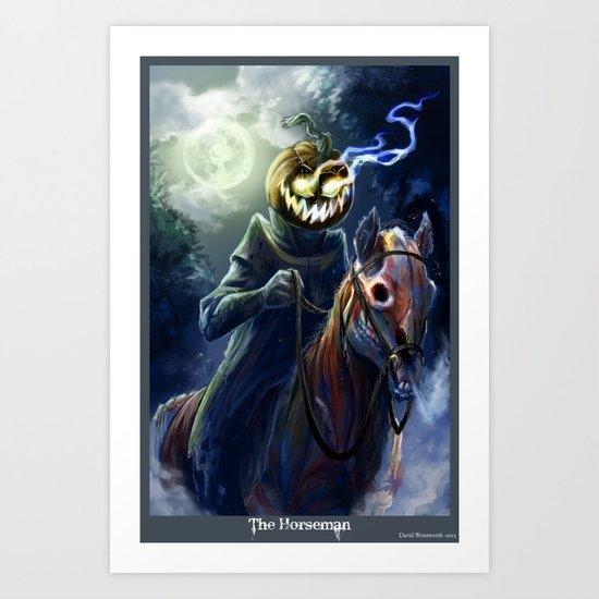 The Horseman Art Print