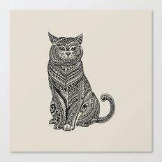 Polynesian British Shorthair cat Canvas Print