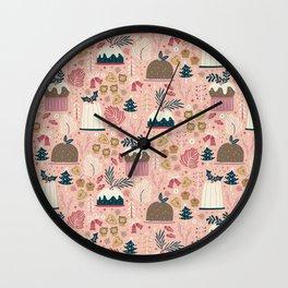Holiday Delights Wall Clock