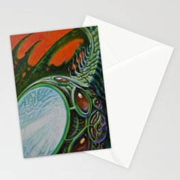 """Interval"" by Adam France Stationery Cards"