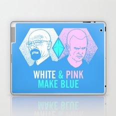 WHITE & PINK MAKE BLUE Laptop & iPad Skin