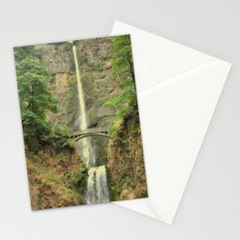 MULTNOMAH FALLS - OREGON Stationery Cards