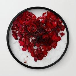 PETALI DI CUORE Wall Clock